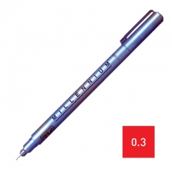 ZIG Pen Red 0.3mm