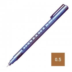 ZIG Pen Brown 0.5mm