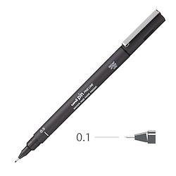 Uni Pin Fineliner Grey 0.1mm