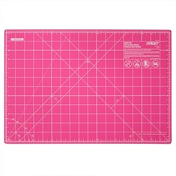 Small Cutting Mat 18in x 12in Pink