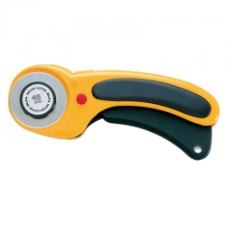 OLFA Ergonomic Rotary Cutter - 45mm