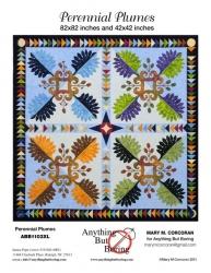 Perennial Plumes Applique Quilt Pattern