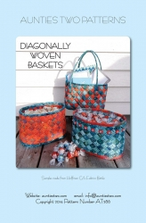 Diagonally Woven Baskets