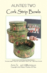 Cork Strip Bowls