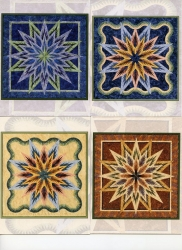 Note Cards - Feathered Star (4 designs)