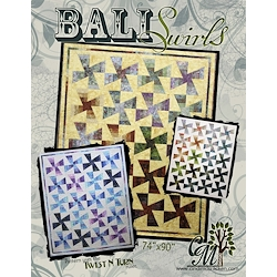 Bali Swirls Pattern with Twist & Turn Template