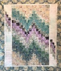 Desert Mirage Pieced Quilt