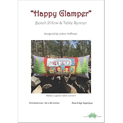 Happy Glamper Bench Pillow & Table Runner