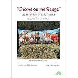 Gnome on the Range Bench Pillow & Table Runner