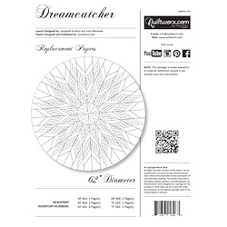 Dream Catcher Replacement Papers