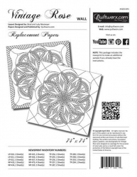 Certified Shop Vintage Rose Wall Quilt Replacement Papers