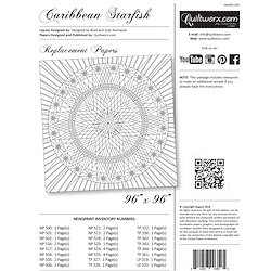 Caribbean Starfish Replacement Papers