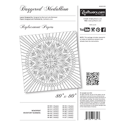 Daggered Medallion Replacement Papers