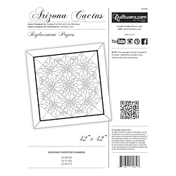 Arizona Cactus Flower Replacement Papers