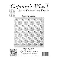 Captain's Wheel Queen Size Extensions
