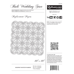 Bali Wedding Star 2014 Replacement Papers