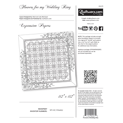 Flowers for my Wedding Ring Expansion papers Revised July 2017
