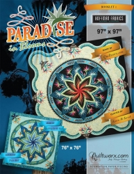 Certified Shops Paradise In Blooms Wall Quilt Includes Applique