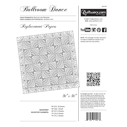 Ballroom Dance Replacement Papers