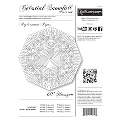 Celestial Snowfall Replacement Papers