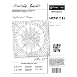 Butterfly Garden Replacement Papers
