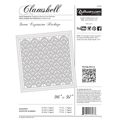 Clamshell Queen Expansion Papers