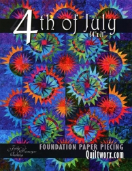 4th Of July Foundation Pattern