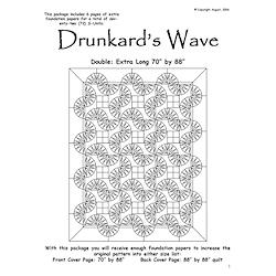Drunkards Wave Double/Queen