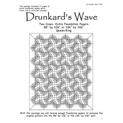 Drunkards Wave Queen/King Extra Foundation