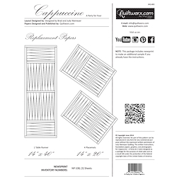 Cappuccino Tablerunner & Placemats Extra Foundations