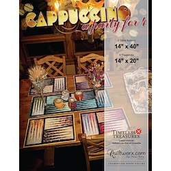 Cappuccino Tablerunner & Placemats