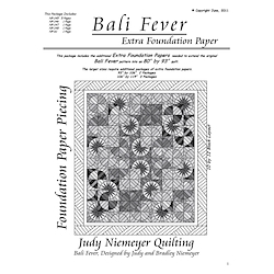 Judy Niemeyer - Bali Fever extra papers