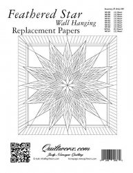 Feathered Star Wall Hanging Replacement Papers