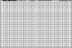 1in Grid Printed Interfacing (25 Panels)