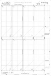 Bitty Bag Printed Interfacing (Half Bolt - 25 Panels)