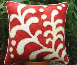 Opposites Attract Fern Pillow