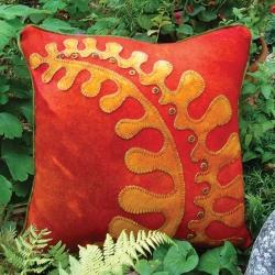 Fall Fern Pillow