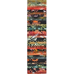 Rainbow Precut 2.5 inch #0026 Black 10