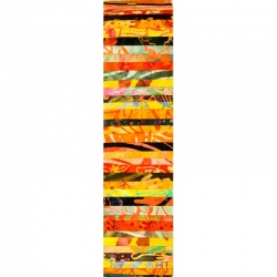 Rainbow Precut 2.5 inch #0045 Yellow/Orange