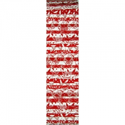 Rainbow Precut 2.5 inch #0046 Red/White