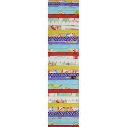 Rainbow Precut 2.5 inch #0070 Multicolour Squares