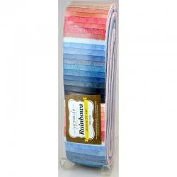 Rainbow Precut 2.5 inch #0122 Stof Blushing Blue