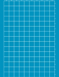 1in Grid Horizontal A3 Stencil