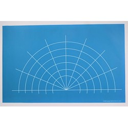 Mandala Guide A3 Stencil