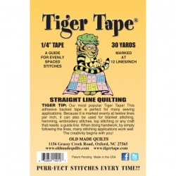 Tiger Tape 0.25in (Big Stitch)