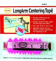Long Arm Centering Tape