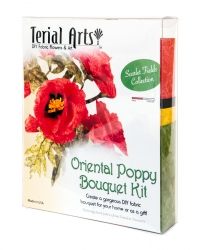 Poppies Bouquet Kit - Terial Arts.