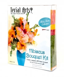 Hibiscus Bouquet Kit - Terial Arts.
