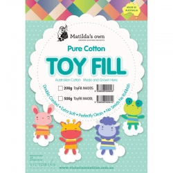 100% Cotton Toy Fill 200g