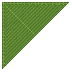 12in Triangle
